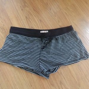 Black and Gray Stripped Shorts. Size 2X